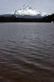jezioro mount hood straciła fotografia stock