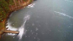 jezioro, mrożone zdjęcie wideo