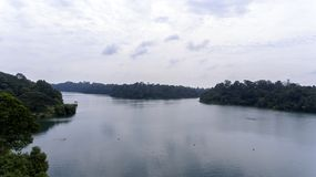 Jezioro na Pięknym dniu Obraz Stock