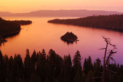 jezioro nierzeczywiste Zdjęcie Stock