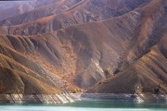 Jezioro obok sposobu obrazy royalty free