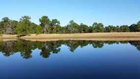 Jezioro odbicie Zdjęcia Royalty Free