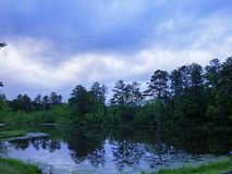 Jezioro odbicie Obrazy Royalty Free