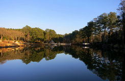 jezioro odzwierciedlający Fotografia Stock
