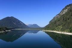 jezioro piękna zaciszność fotografia stock
