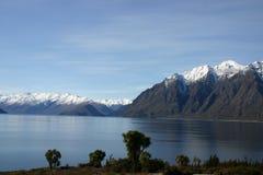 jezioro południową alpy Obrazy Royalty Free
