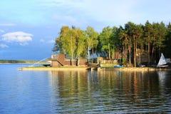 jezioro pogodny obrazy royalty free