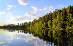 jezioro pokojowy zdjęcia royalty free