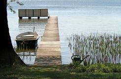 jezioro pokojowy Obraz Royalty Free
