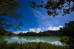jezioro pokojowy fotografia royalty free
