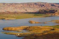 jezioro Powell Obrazy Stock