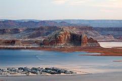 jezioro Powell zdjęcie stock