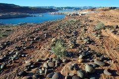 jezioro Powell sceniczny Obraz Royalty Free