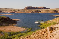 jezioro Powell wakacje Obrazy Royalty Free