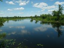 Jezioro przegapia Zdjęcie Stock