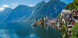 Jezioro przy Hallstatt, Austria Zdjęcia Stock
