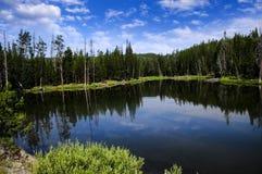 Jezioro przy Yosemite parkiem narodowym Zdjęcie Royalty Free