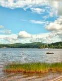 Jezioro Przyjemny obraz royalty free