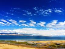 jezioro Qinghai Zdjęcie Royalty Free