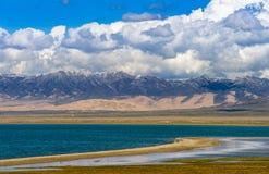 jezioro Qinghai obrazy stock