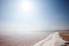 jezioro sól Zdjęcia Stock