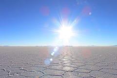 jezioro sól Obraz Royalty Free