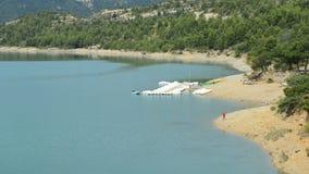 Jezioro Sainte-Croix Francja zdjęcie wideo