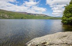 Jezioro Sanabria fotografia royalty free