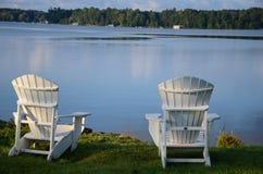 jezioro się odprężyć obrazy stock