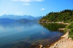 jezioro skadar Zdjęcia Royalty Free