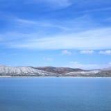 jezioro solankowy Utah Zdjęcia Royalty Free