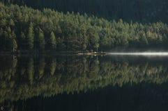Jezioro, spadek Obrazy Stock