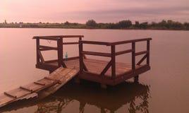 Jezioro strona Obraz Stock
