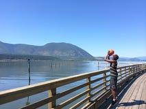 Jezioro strzał zdjęcie stock