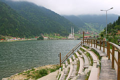 jezioro tęsk uzungol Fotografia Stock