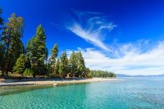 jezioro tahoe Zdjęcia Royalty Free