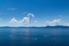 jezioro tahoe Obrazy Royalty Free