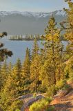 jezioro tahoe Fotografia Royalty Free