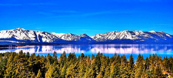 jezioro tahoe kalifornii fotografia stock