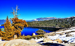 jezioro tahoe kalifornii Obraz Royalty Free