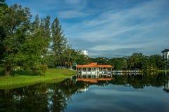 jezioro Taiping ogrodniczy obraz stock
