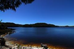 jezioro tasmainian Zdjęcia Stock