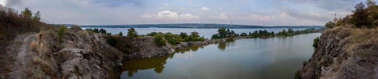 jezioro trochę Obrazy Royalty Free