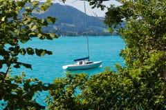 Jezioro w Austria, Attersee Fotografia Royalty Free