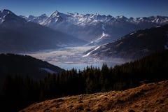 Jezioro w Austriackich alps Zdjęcia Stock