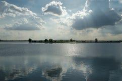Jezioro w Bucharest Zdjęcia Royalty Free