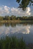 Jezioro w Chudów Obrazy Royalty Free