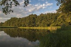 Jezioro w Chudów Zdjęcia Royalty Free