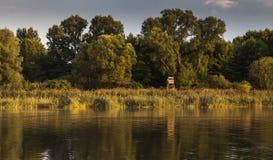 Jezioro w Chudow Zdjęcie Royalty Free