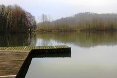 Jezioro w Echternach Zdjęcie Royalty Free